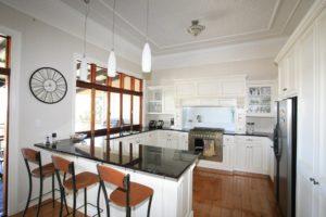 Timber & Black Kitchen